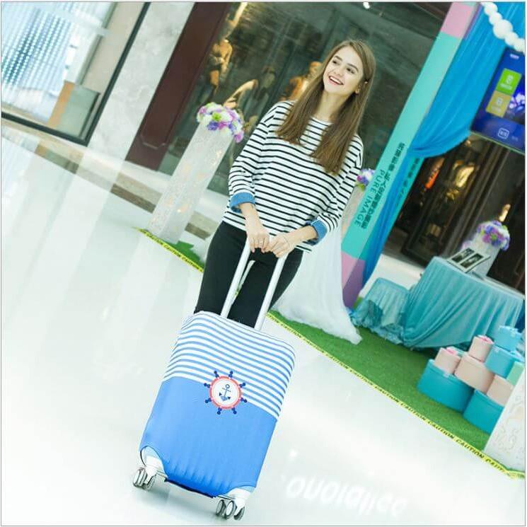 Túi Bọc Vali Thun Size 24 - 27 Co Giãn 4 Chiều Giặt Được