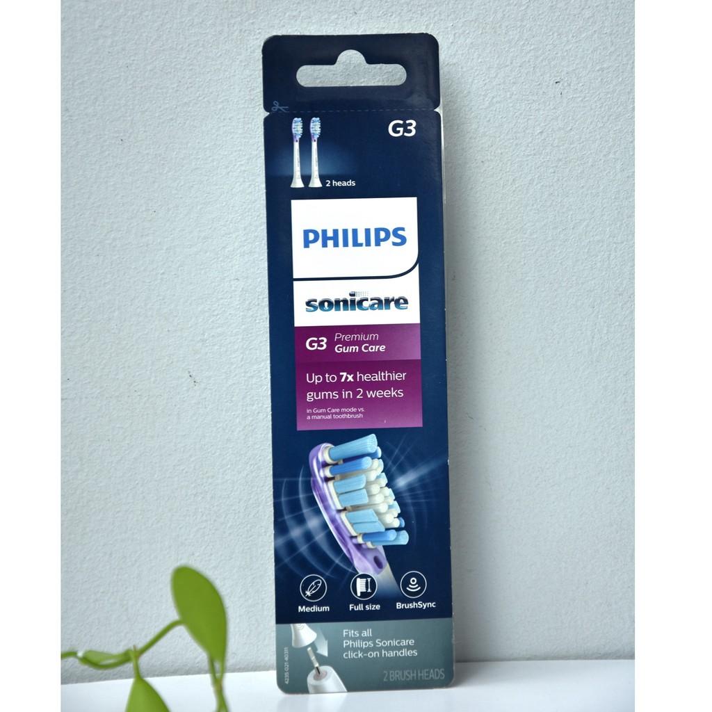 Set đâu thay bàn chải Phillips chính hãng Made in USA