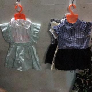 Combo áo váy cho bé yêu!....