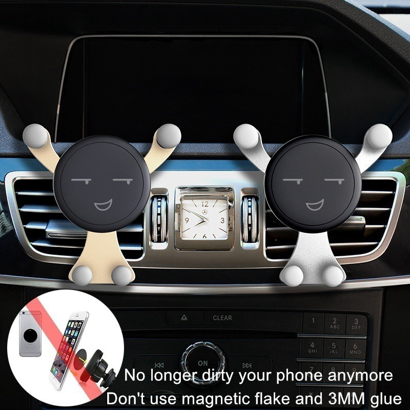 Giá đỡ điện thoại gắn khe điều hòa xe hơi B