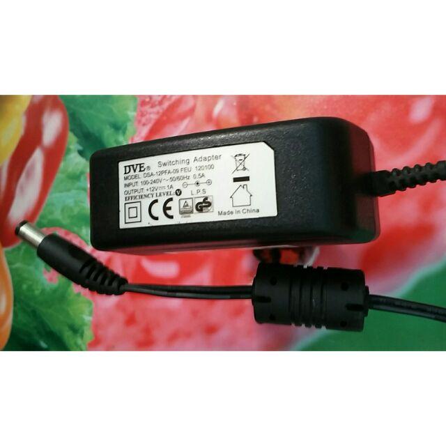 Combo 20 bộ nguồn adapter DVE 12v 1a