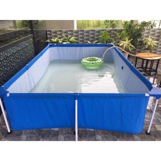 Bể Bơi Lắp Ghép 56403 Kích Thước 2.59mx 1.70mx 61cm quocbao222