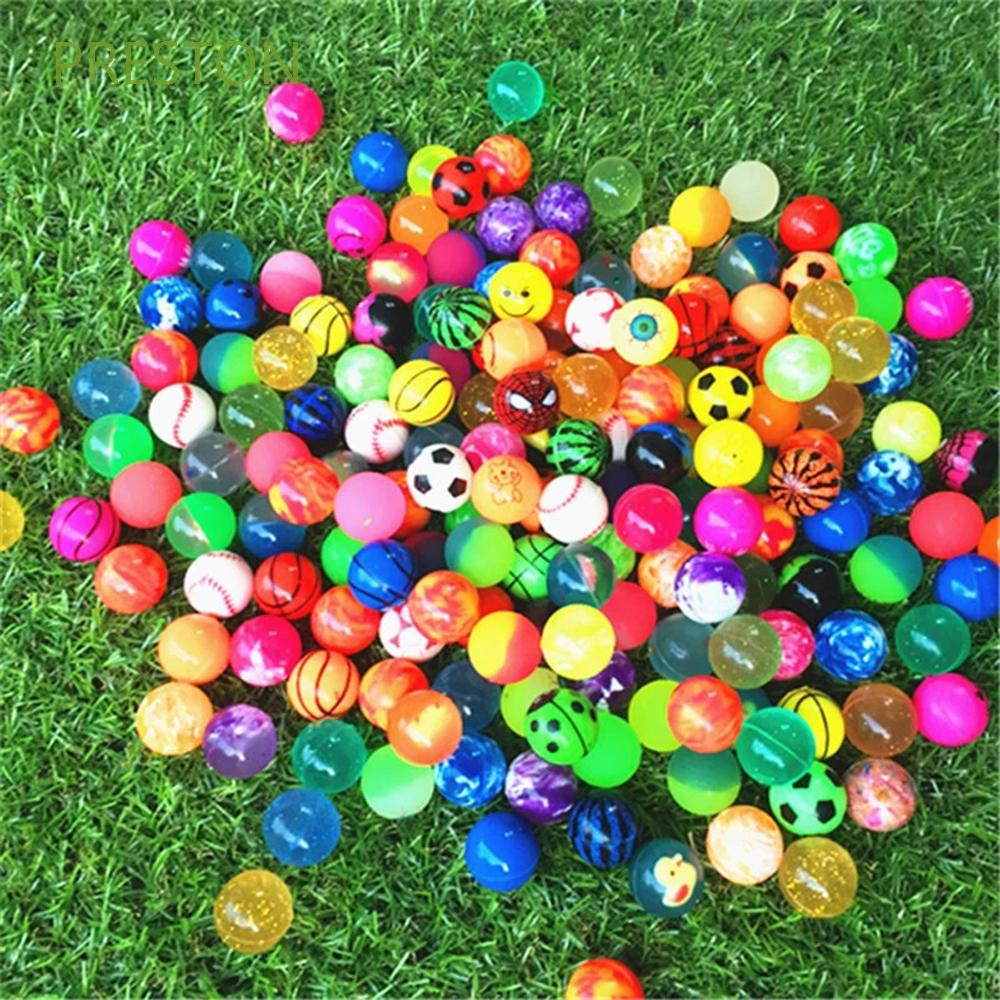 PRESTON Outdoor Games Jumping Balls 10/20 pcs Funny toy Bouncing Balls Educational Toy Children Toy Rubber Anti Stress Bath Toys for Children Bouncy toys