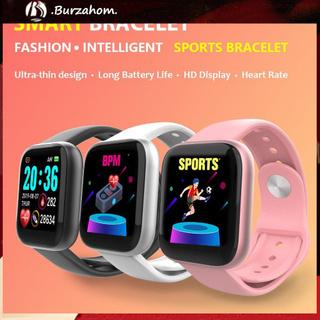 Bộ Đồng Hồ Thông Minh Bluetooth 4.0 Chống Nước Giám Sát Nhịp Tim & Huyết Áp W6