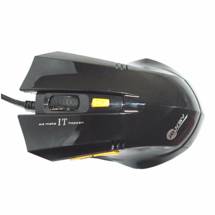 Chuột game JM cực bền thiết kế đẹp đèn LED nổi bật Giá chỉ 105.000₫