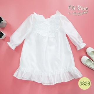 Váy trắng bồng bềnh tiểu thư, Váy thiết kế cho bé