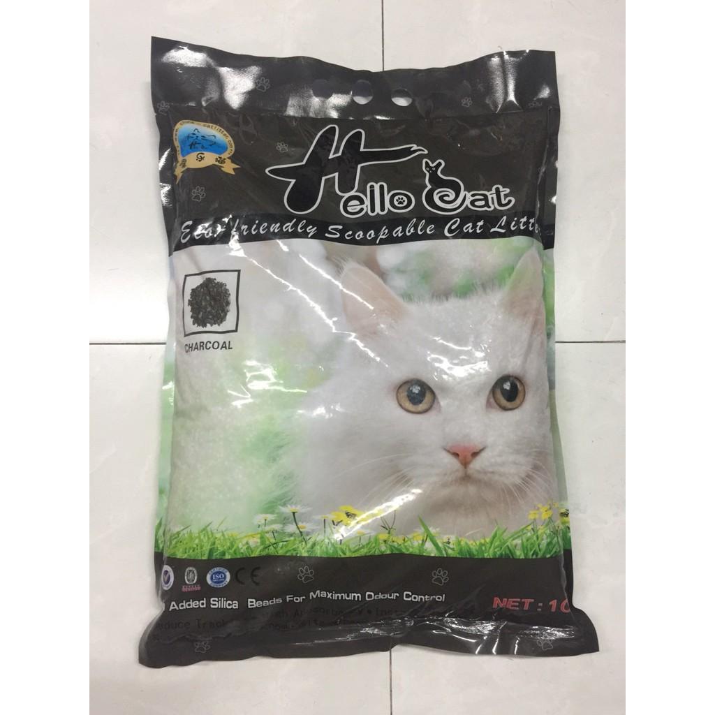 Cát vệ sinh cho mèo HelloCat than hoạt tính ( dạng sỏi )