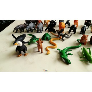 Bộ 36 con vật safari, Mô hình động vật Safari, đồ chơi động vật safari – siêu dễ thương