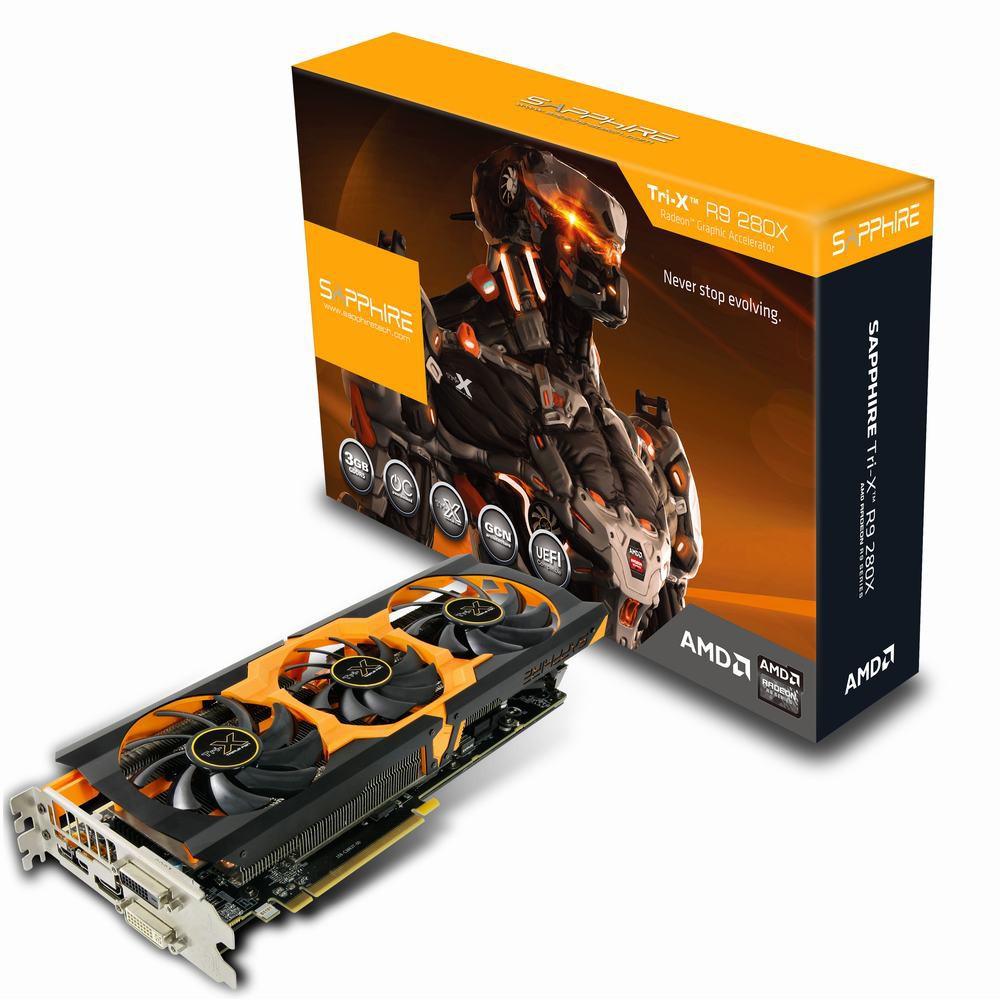 Sapphire Radeon R9 280X Toxic (TRI-X R9 280X 3G D5)