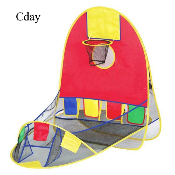 Foldable Pop Basketball Ball Shooting Tent Balls for Kids Outdoor Space C757