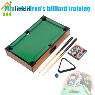 【COD】# limad Mini Tabletop Pool Table Billiards Set Training Gift for Children Fun Entertainment