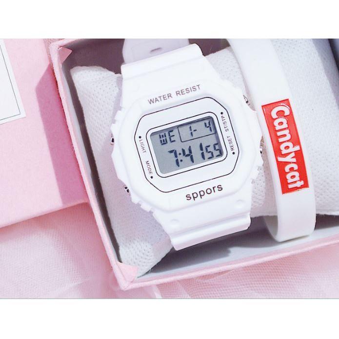 ⭐ Rẻ Vô Địch ⭐ Đồng hồ điện tử unisex SPPORS dây nhựa siêu đẹp DH005
