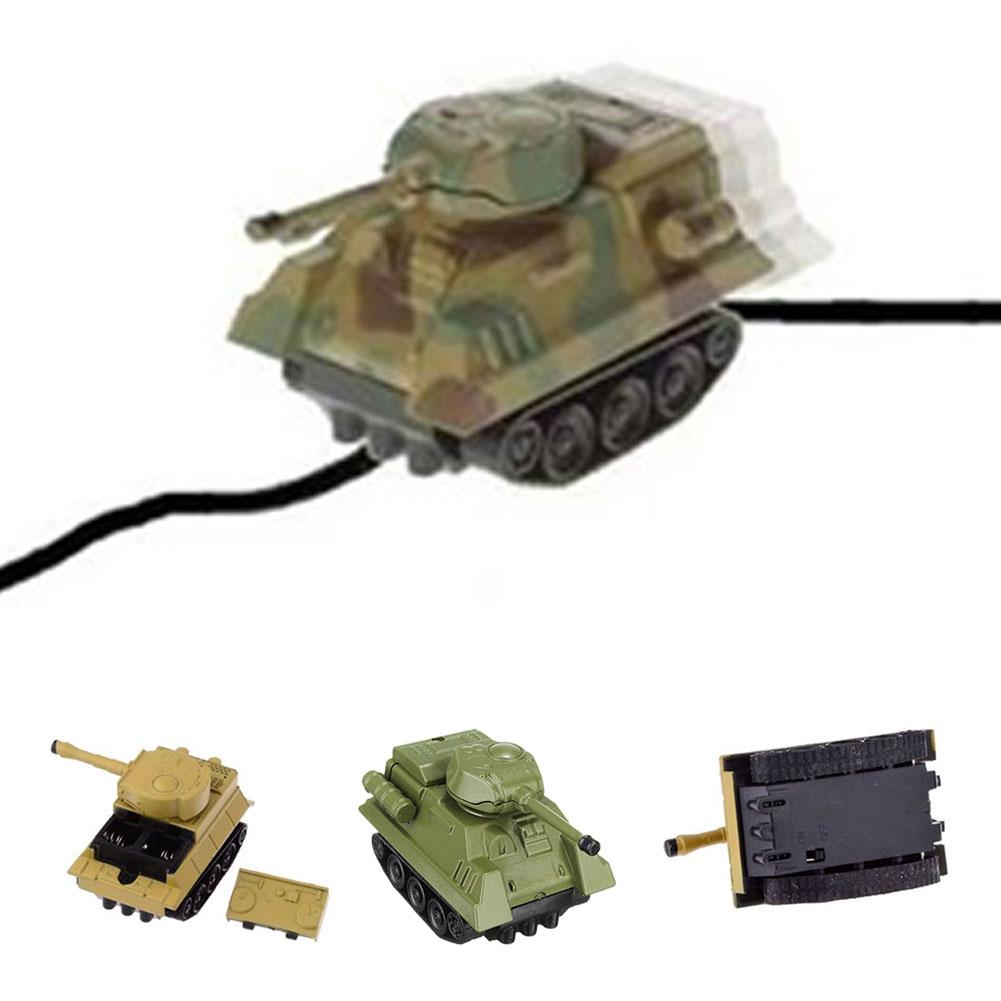 Optical Sensor Magic Inductive Tank Car Toy for Kids Childs Creative Gift