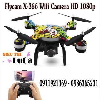 Flycam X-366 Wifi Camera HD 1080P New