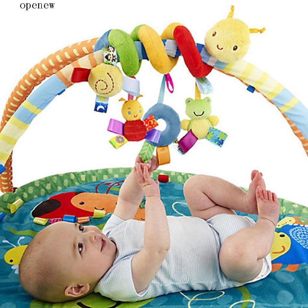 op New Kids Infant Baby Girls Boys Cartoon Shape Wrap Around Bed Doll Toys