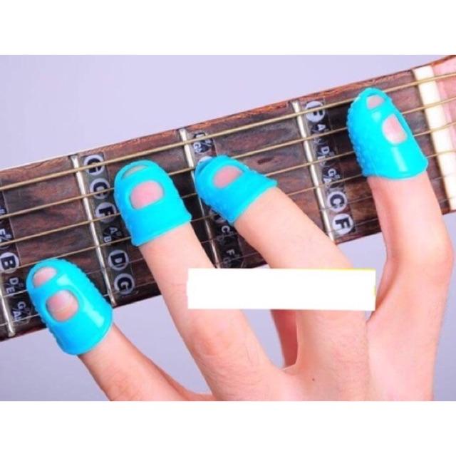 Phụ kiện bọc đầu ngón tay chơi Guitar - Ukulele