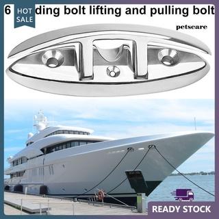 PTX Marine Dock Boat Kayak Mooring Flip-Up Folding Cleat Stainless Steel Fastener thumbnail