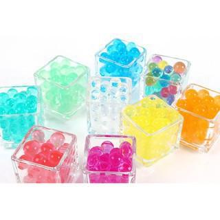 Gói hạt nở 500 viên 1 màu nhiều màu làm slime cam kết đẹp