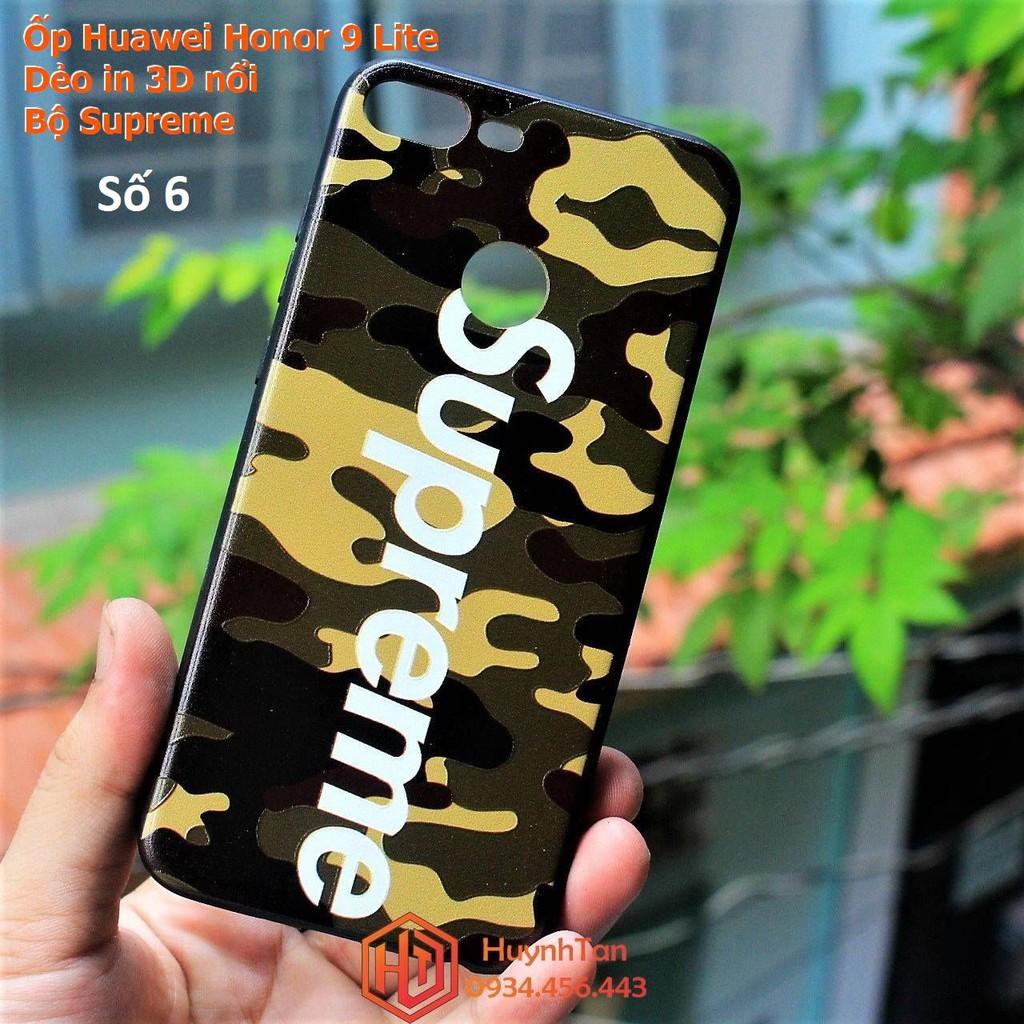 Ốp lưng Honor 9 Lite 3D dẻo bộ hình supreme (Hình 6)