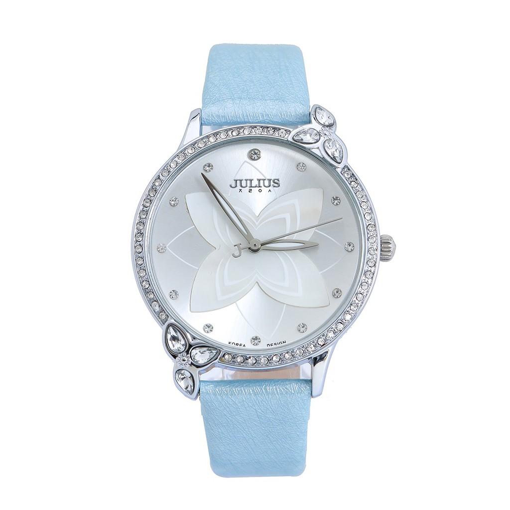 Đồng hồ Nữ JULIUS JU1074 đính đá - Xanh