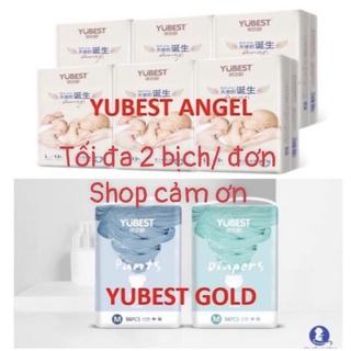 [Hà Nam] Combo 1 Bịch Bỉm Dán/Quần Yubest Gold/Angel/ nội địa Trung Quốc Size: S90/M84/L78/XL72/XXL66