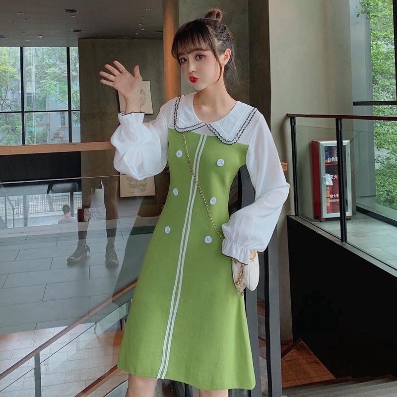 đầm len tay dài thời trang dành cho nữ - 21947747 , 2679654741 , 322_2679654741 , 587400 , dam-len-tay-dai-thoi-trang-danh-cho-nu-322_2679654741 , shopee.vn , đầm len tay dài thời trang dành cho nữ
