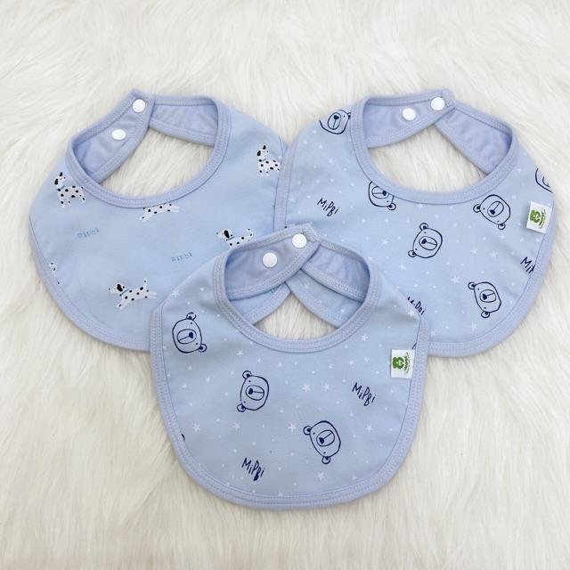 Yếm cotton set 3 Mipbi