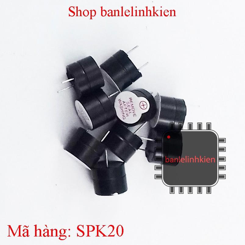 Còi chip (buzzer) 3v 5v - 3370148 , 624590182 , 322_624590182 , 2500 , Coi-chip-buzzer-3v-5v-322_624590182 , shopee.vn , Còi chip (buzzer) 3v 5v