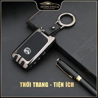 ốp chìa khóa mazda, bảo vệ chìa khóa mazda 3 2020 thép không rỉ với khả năng chịu lực, sang trọng, Hoàng Sang Otofun thumbnail