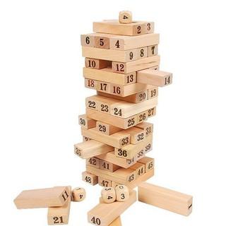 Trò chơi rút gỗ 54 thanh FKM-688