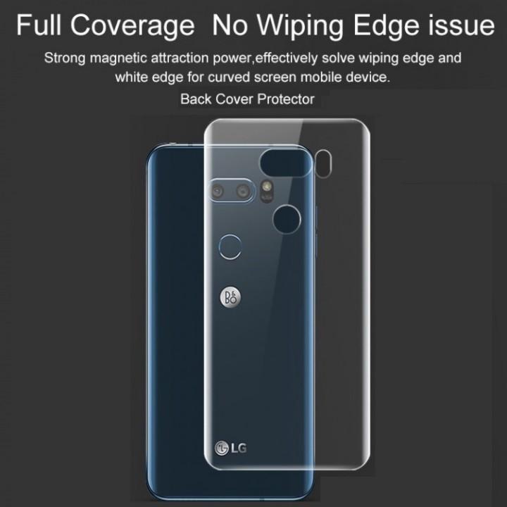 Dán mặt sau LG V30 trong suốt Hydrogel