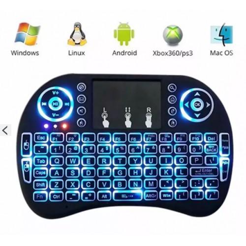 Bàn phím kiêm chuột không dây LED Mini Keyboard KM - 3021439 , 460516730 , 322_460516730 , 200000 , Ban-phim-kiem-chuot-khong-day-LED-Mini-Keyboard-KM-322_460516730 , shopee.vn , Bàn phím kiêm chuột không dây LED Mini Keyboard KM
