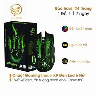 Chuột Máy Vi Tính Có Dây Imice X9 Chuột Laptop Có Dây Đèn Led OHNO Việt Nam thumbnail