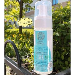 Sữa rửa mặt tạo bọt cho da dầu Natura Siberica trắng da sạch bã dầu, sữa rửa mặt cho nam, dành cho da nhờn thumbnail