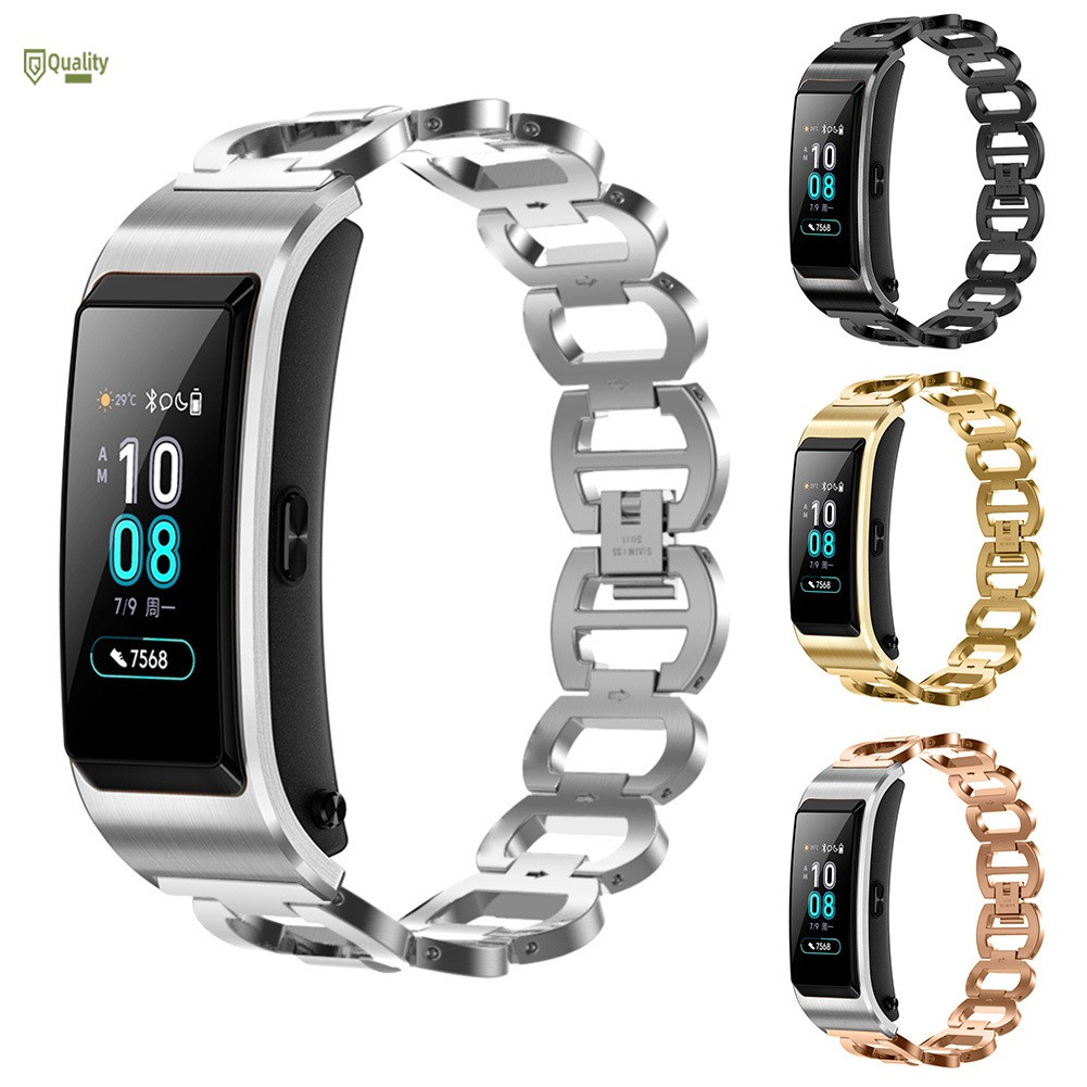 TH♥ Watch Strap Bands Fitness Stainless Steel Watch Band for Huawei B5
