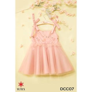 Đầm hoa đào 2 dây-DCC07