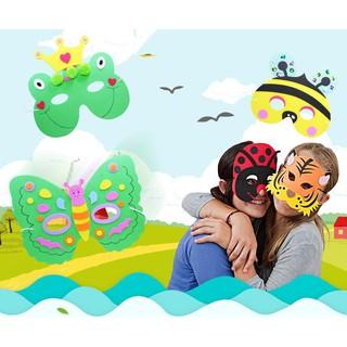 Set tự làm mặt nạ tự thủ công bằng giấy xốp cho trẻ em