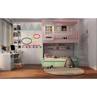 Giường tầng trẻ em với phong cách hiện đại,thông minh – Nội thất Viethome