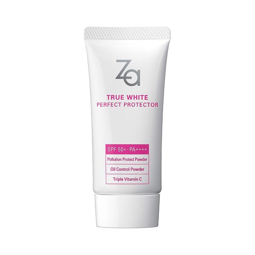 Sữa Chống Nắng Dưỡng Trắng Za True White EX Perfect Protector SPF50+ PA++++ 30g