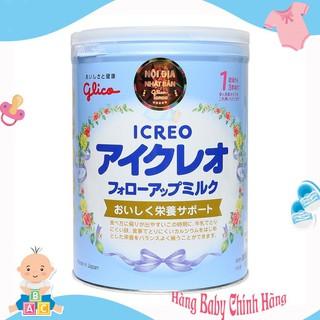 Sữa Glico Icreo Nhật Bản số 1 màu xanh, 820g