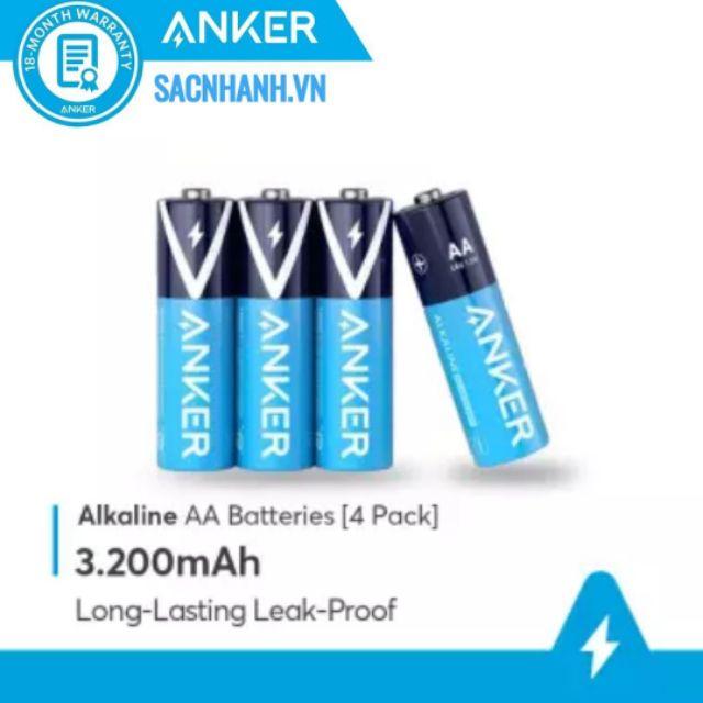 Pin Anker AA/AAA Alkaline (2 viên/4 viên)
