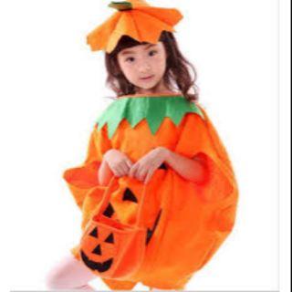 Bộ trái bí. Hóa trang Halloween