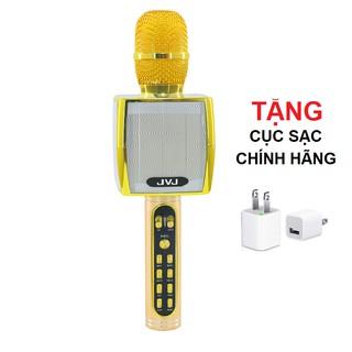 Micro không dây JVJ YS91 karaoke bluetooth - Tặng kèm cục sạc chính hãng