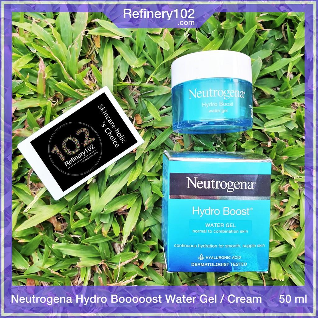 (Bill UK) Kem dưỡng ẩm Neutrogena Hydro Boost Water Gel da dầu / Gel Cream da khô