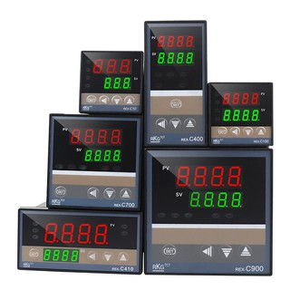 Đồng hồ nhiệt Rex C100 Bộ điều khiển nhiệt độ đầu ra ssr và relay