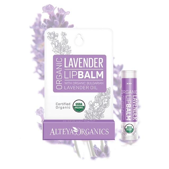 Son Dưỡng Môi Oải Hương Hữu Cơ Alteya Organics Lavender Lip Balm, 5g
