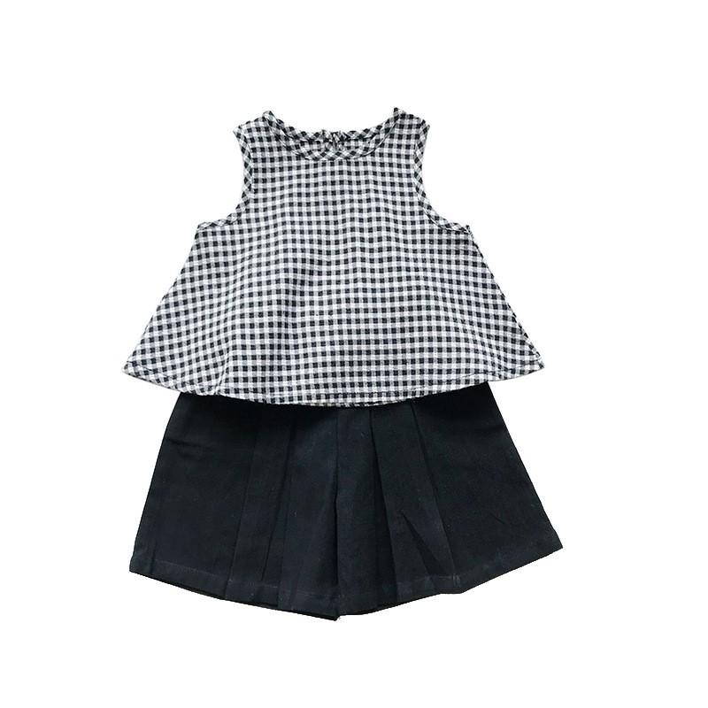 Set đồ mùa hè tiêu thư thời trang Hàn Quốc - Hàng Quảng Châu Cao Cấp