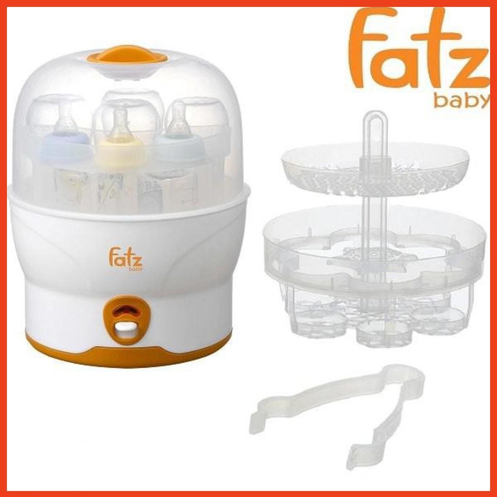 Máy tiệt trùng bình sữa siêu tốc 6 bình Fatzbaby FB4019SL chính hãng  499,000đ