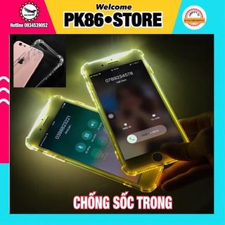 🔴 [Kho sỉ ] Ốp chống sốc, va đập trong suốt cho iphone silicol dẻo