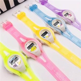 Đồng hồ điện tử trẻ em TIME Clue hoạt hình QA285